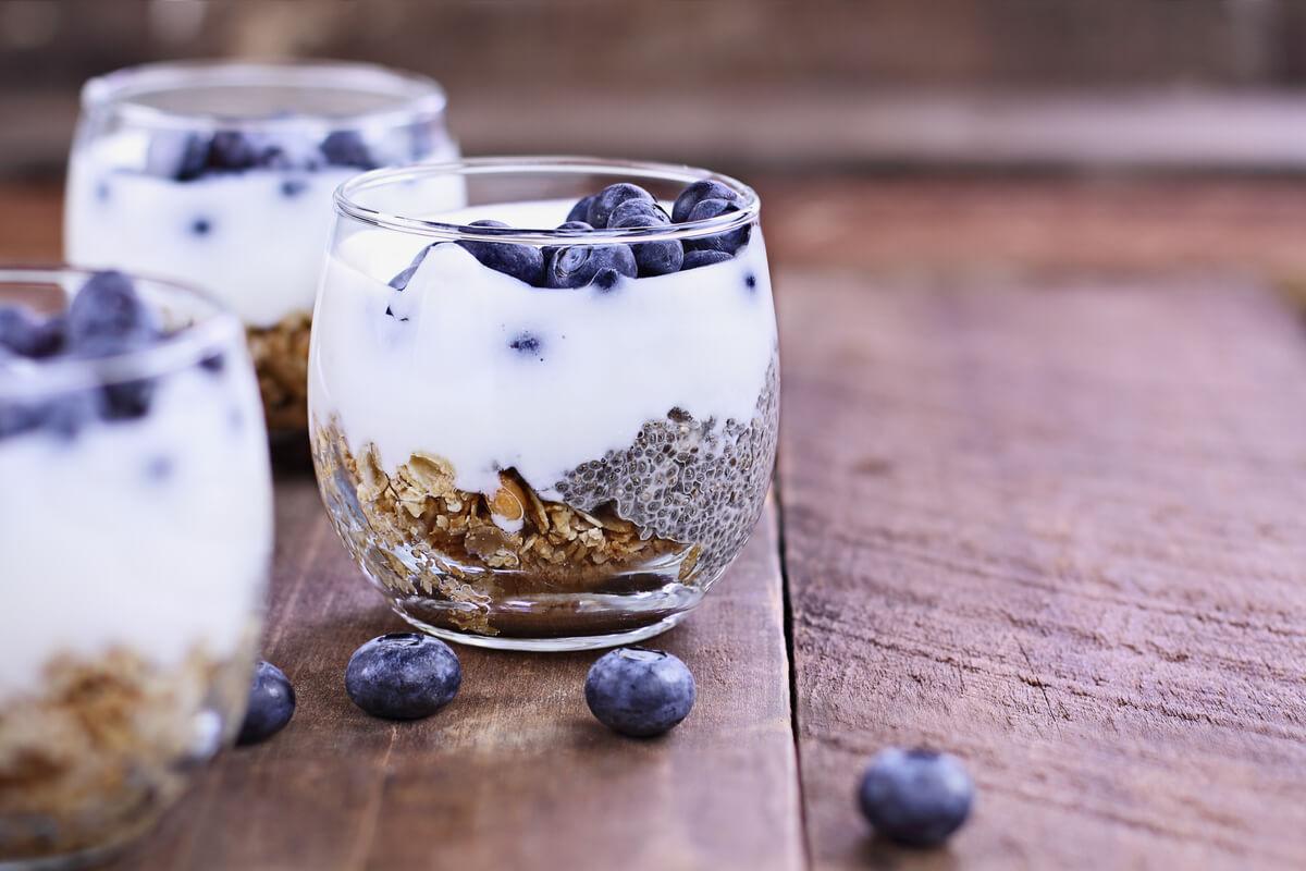 El yogur de kéfir es un probiótico.