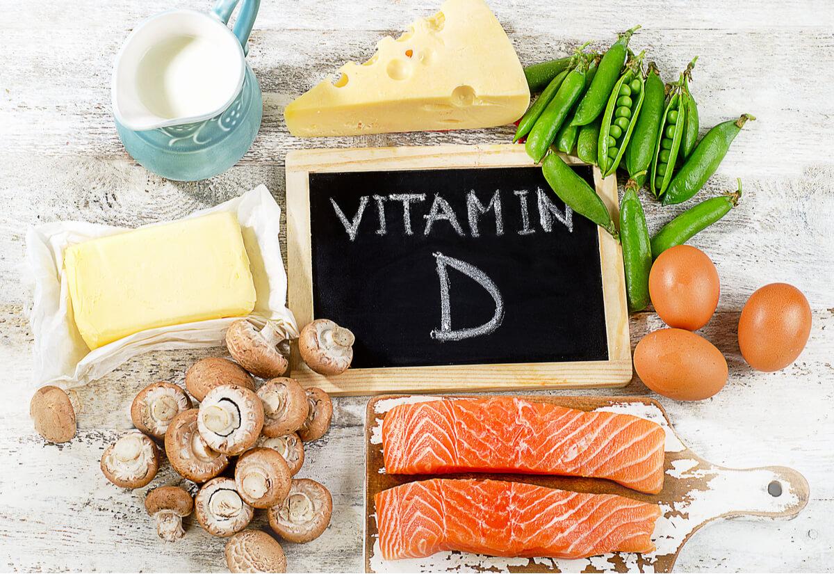 Una representación de la vitamina D.