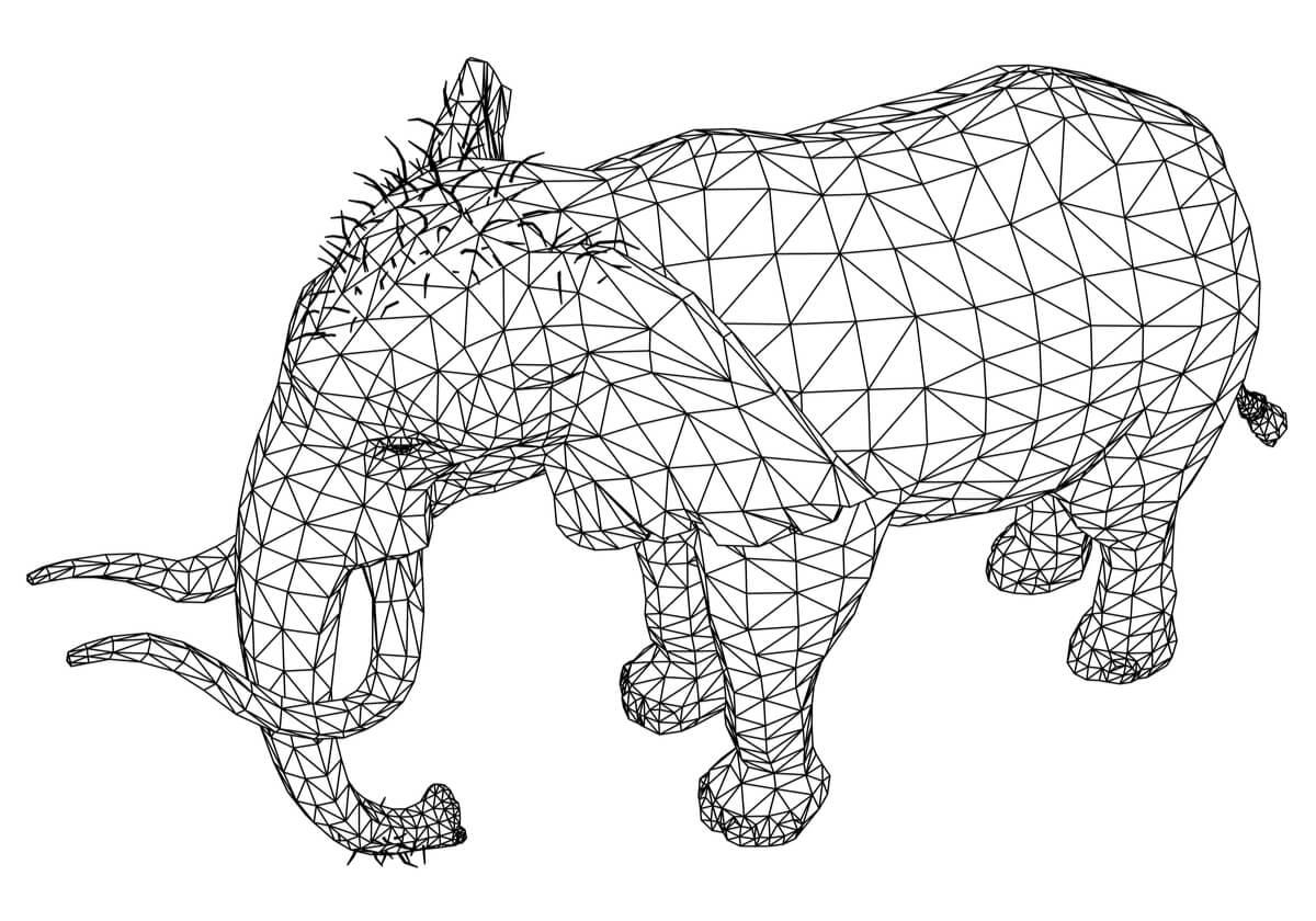 Un concepto de geometría animal.