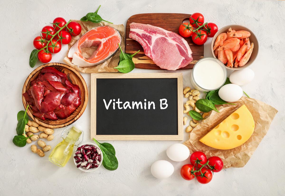 Comidas con vitamina B.