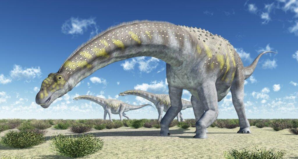Argentinosaurus: el dinosaurio más grande que existió